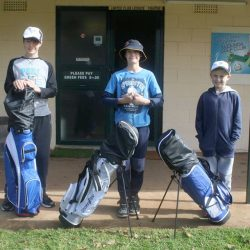 Junior Golfers the Winners on First Day of 2017