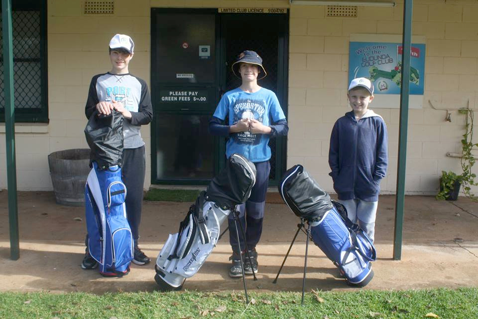 Ready for Action Club for all sizes with big smiles -what a great day we had at the EGC