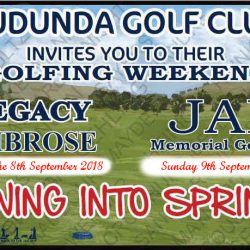 Legacy & JAK Golfing Weekend 8th & 9th Sept 2018